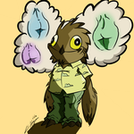 Potoo Only Want One Thing by Flargletush