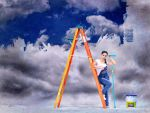 The Painter Of The Sky by BENAFOG