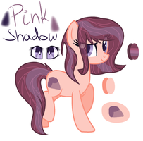 Pink Shadow {OC} by WolfySempai