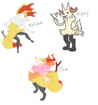 Braixen collab by Radicalhat