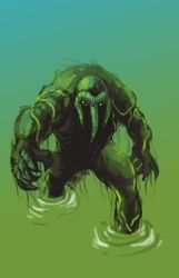 DSC 76 Man-Thing by robthesentinel