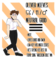 Oliver ref by boneless-water