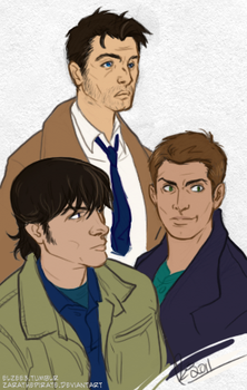 Supernatural Boys by ZarathePirate