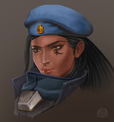 Young Amari by AnnaBeck