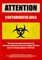 Contaminated area by SixPixeldesign