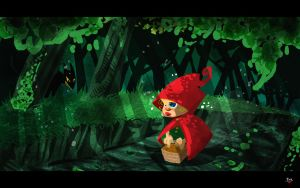 Little red riding hood by themico
