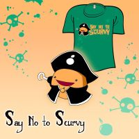 Woot Shirt - Say No To Scurvy by fablefire