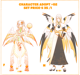 (SET PRICE CLOSE)CHARACTER_ADOPT_02 by krianart
