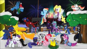 Trotsdale's New Years 2015 by CobaltWinterborn