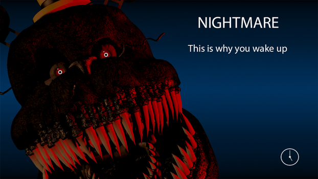 FNAF SFM: Nightmare by AndyDatRaginPyro