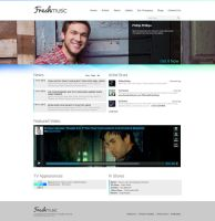 Freshmusic Webdesign by SMHYLMZ