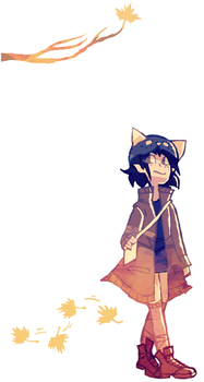 fall nepeta by ashlooloo