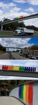 Rainbow Bridge to Equality by carnival