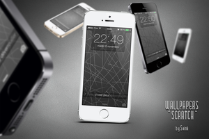 Wallpapers iOS7 LS/SB : Scratch by Svink77