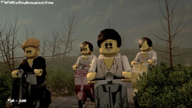 Lego Mumford and Sons - The Cave (WIP) by TheFishCakes