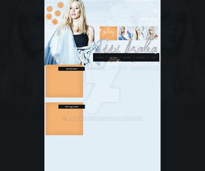simple premade design with Iggy Azalea by emdiartist