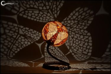 Table lamp XX - Butterfly by Calabarte