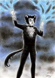 Magical Mr Mistoffelees by Violafuchs