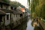 Canal, Suzhou, 1986 A by bobswin