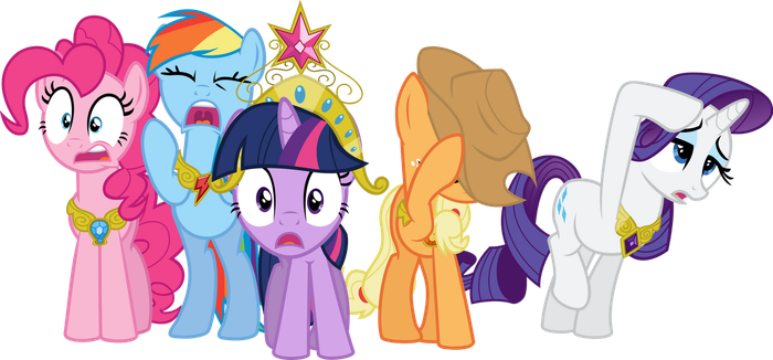 Mane 6 - 1 - We're All Doomed! by Firestorm-CAN