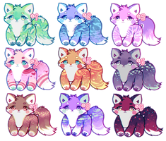 fox adopts (closed) by healingpotions