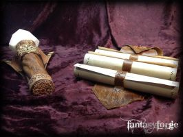 LARP EQUIP: Mage belt accessories II by FantasyForgeLARP