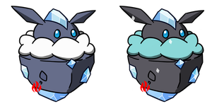 Pokemon #703 - Carbink