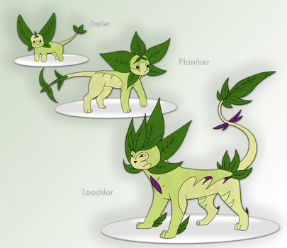 Fakemon - Grass Starter by Winter-Osprey