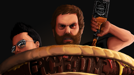 Epic Meal Time by xric