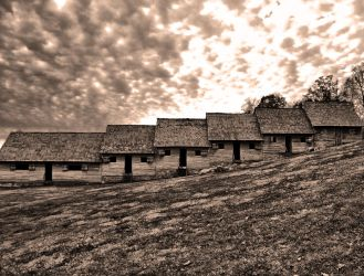 Colonial Barracks by alimuse