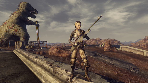Mass Effect Jack Fallout New Vegas Mod (DL) by Nightfable