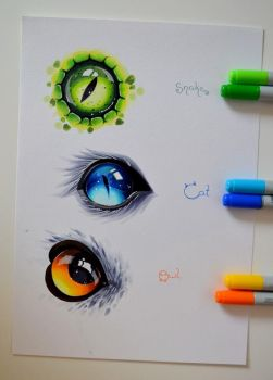 Animal Eyes by Lighane