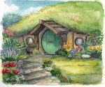 Bag End by lunatteo