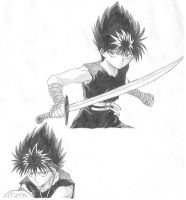 More Hiei by Kikiro