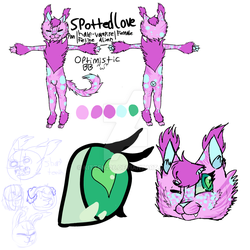 SpottedLove's Updated Reference Sheet by kitten226