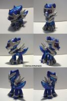 Dialga Ponymon by ChibiSilverWings