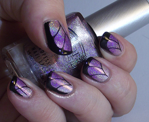 Duo Holographic butterfly wings by Ithfifi