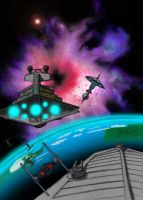 the battle of starbase 12 by Hokens