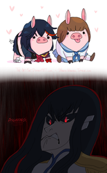 Pigs In Human Clothing by Wowza-Wowzers