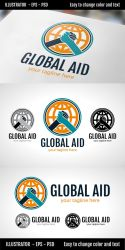 Global Aid  - Logo Template by doghead