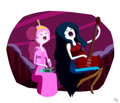 PB and Marci by Littl3Tyke