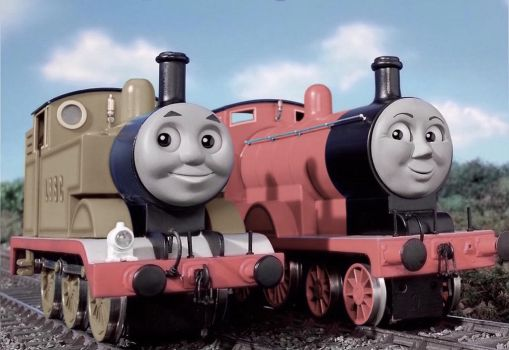Thomas and Edward arrive on Sodor by The-ARC-Minister