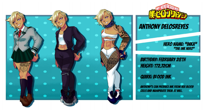 .:BNHA OC:. Anthony DeLosReyes by juke-boxx