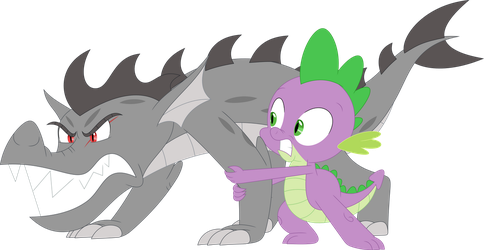 No, Draco, stop! Break free from your rage! by Porygon2z