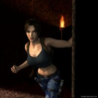 Lara Croft 65 by Nicobass