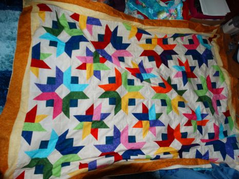 My first finished Quilt by Nyaih-Light
