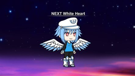 GachaVerse: NEXT White Heart by MegaAli