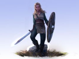 Lagertha by JordyLakiere