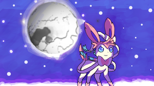 Project Sylveon 2 MoonBlast By Rockman6493 by RockMan6493