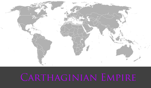 Greater Carthaginian Empire by PrussianInk